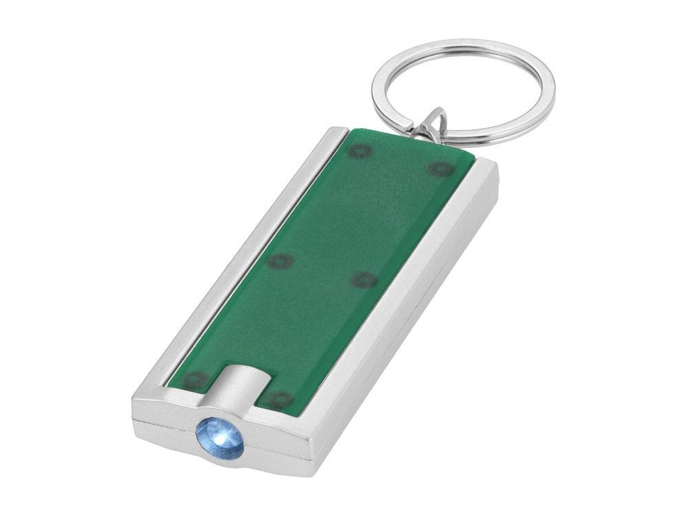 Брелок-фонарик Castor, зеленый