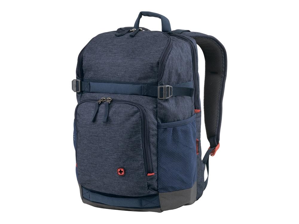 Рюкзак WENGER 24 л с отделением для ноутбука 16, синий