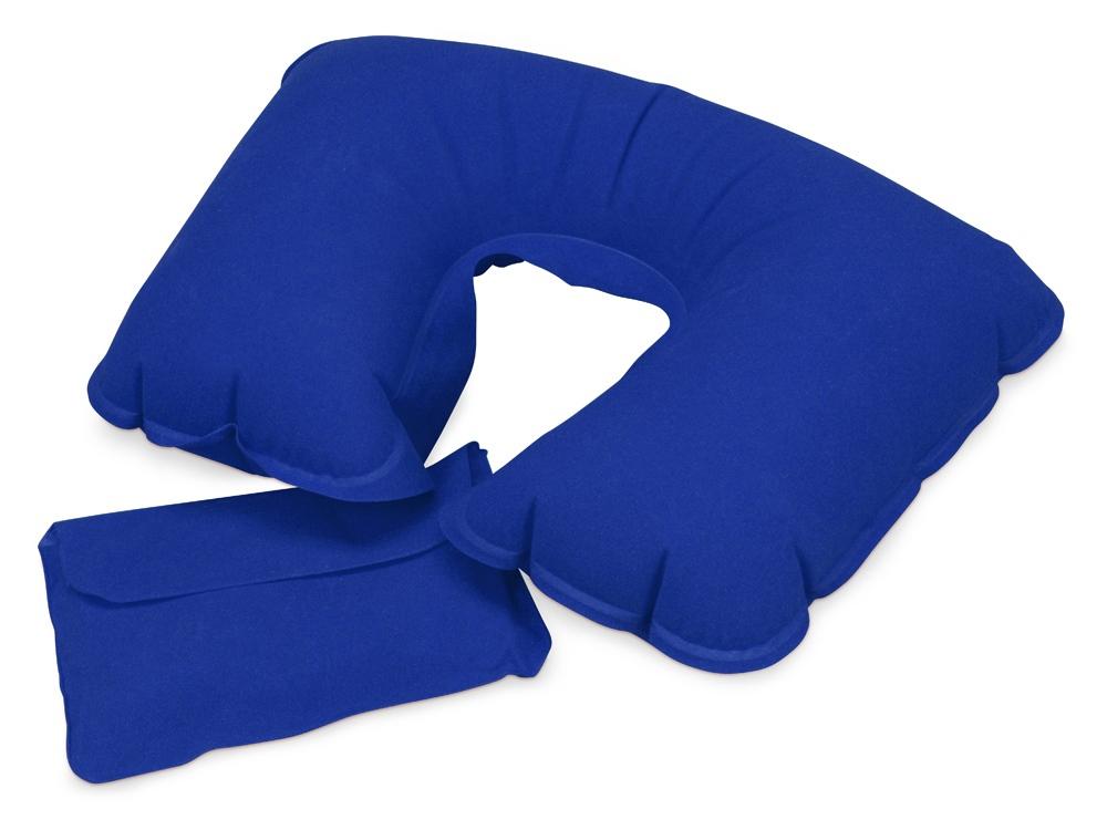 Подушка надувная Сеньос, синий классический
