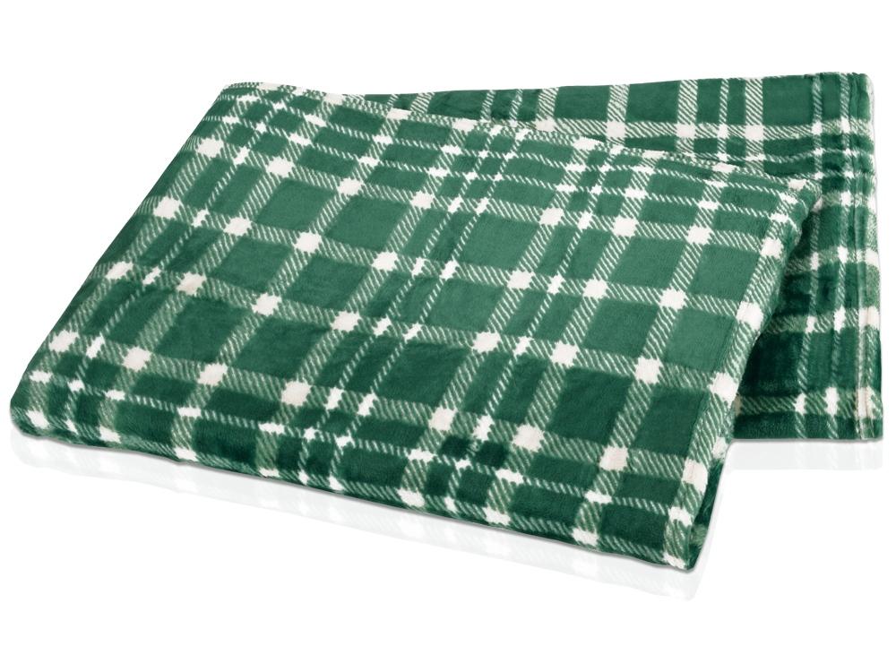 Плед Эдинбург, зеленый
