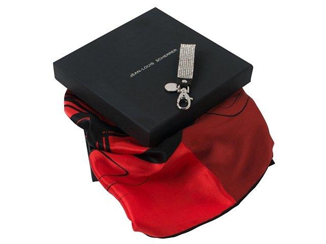 Набор: брелок, шелковый платок