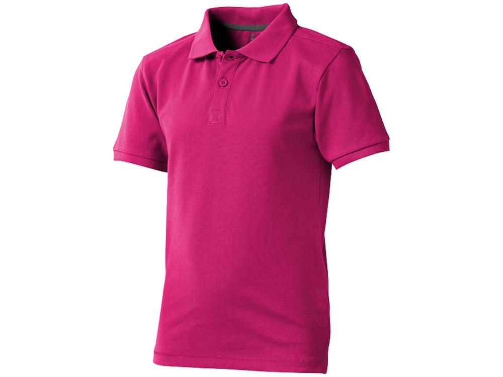 Рубашка поло Calgary детская, розовый