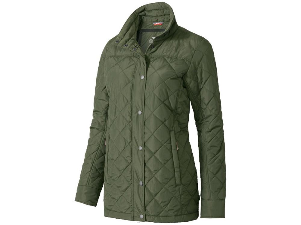 Куртка Stance женская, зеленый армейский