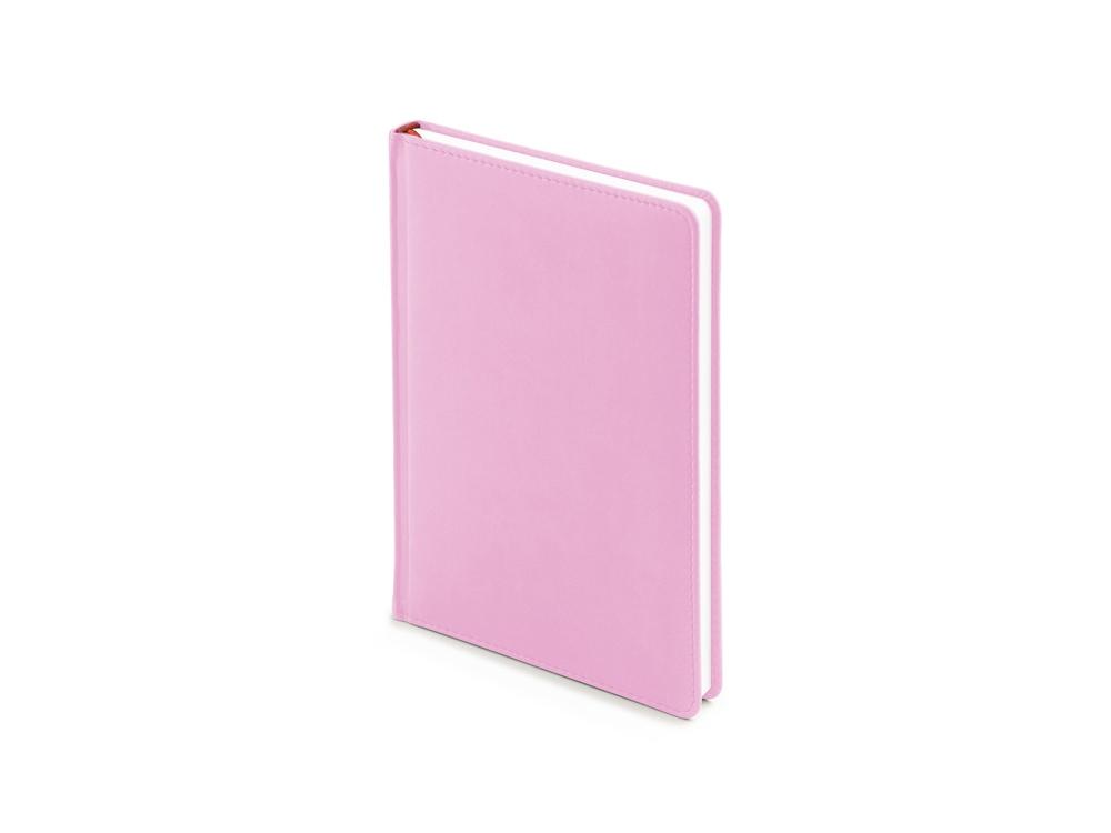 Ежедневник недатированный А5 Velvet, нежно-розовый