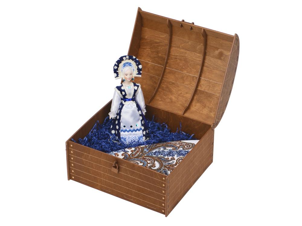 Подарочный набор Мария: кукла, платок