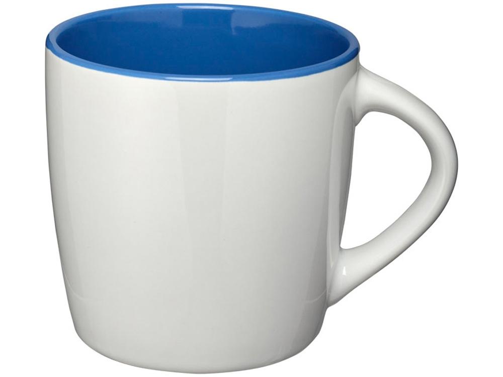 Керамическая чашка Aztec, белый/ярко-синий