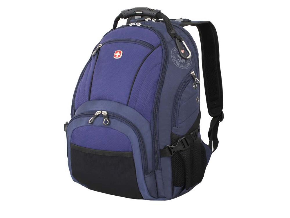 Рюкзак 29л с отделением для ноутбука 15''. Wenger, синий/черный