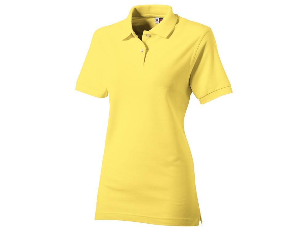 Рубашка поло Boston женская, светло-желтый