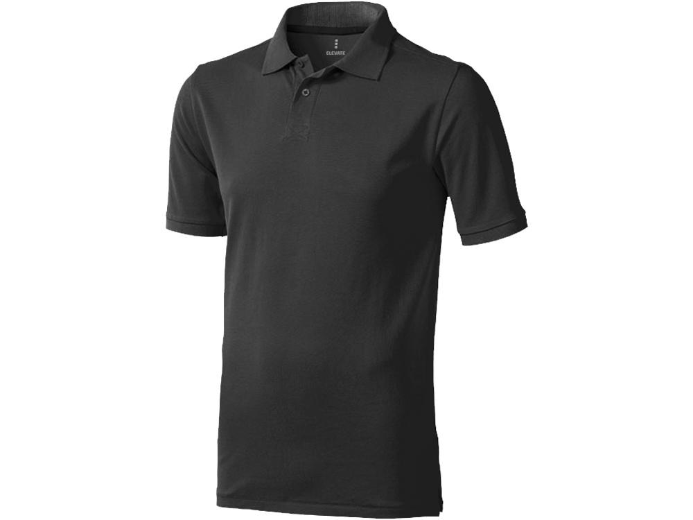 Рубашка поло Calgary мужская, антрацит