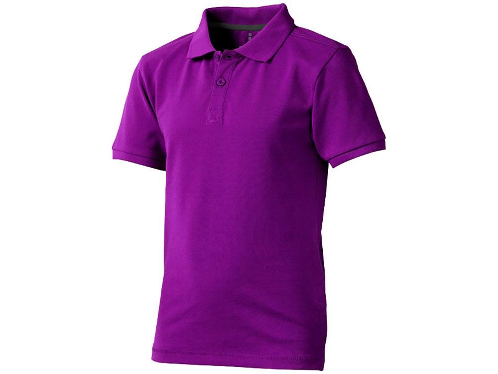 Рубашка поло Calgary детская, темно-фиолетовый