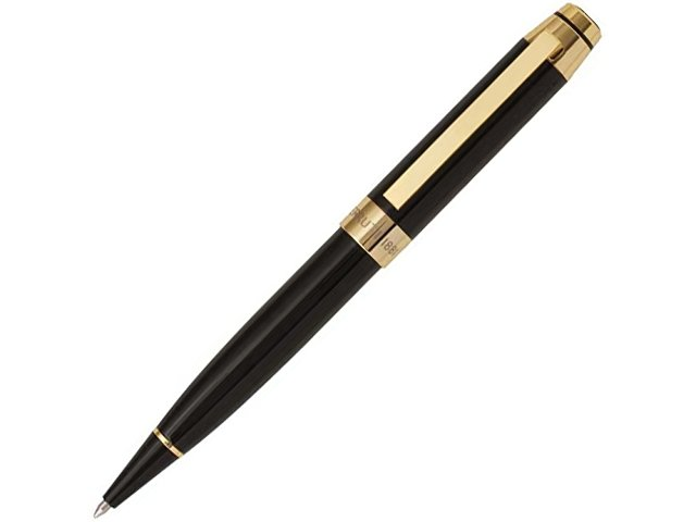 Ручка шариковая Cerruti 1881 модель «Heritage Gold» в футляре