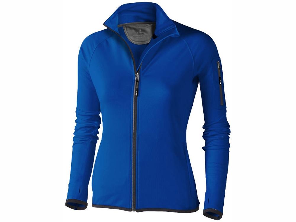 Куртка флисовая Mani женская, синий