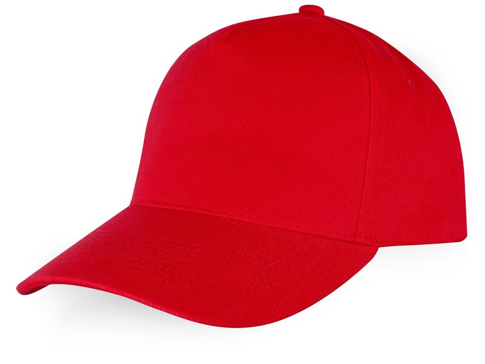 Бейсболка Florida 5-ти панельная, красный