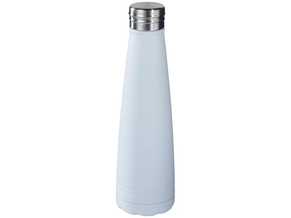 Вакуумная бутылка Duke с медным покрытием, белый