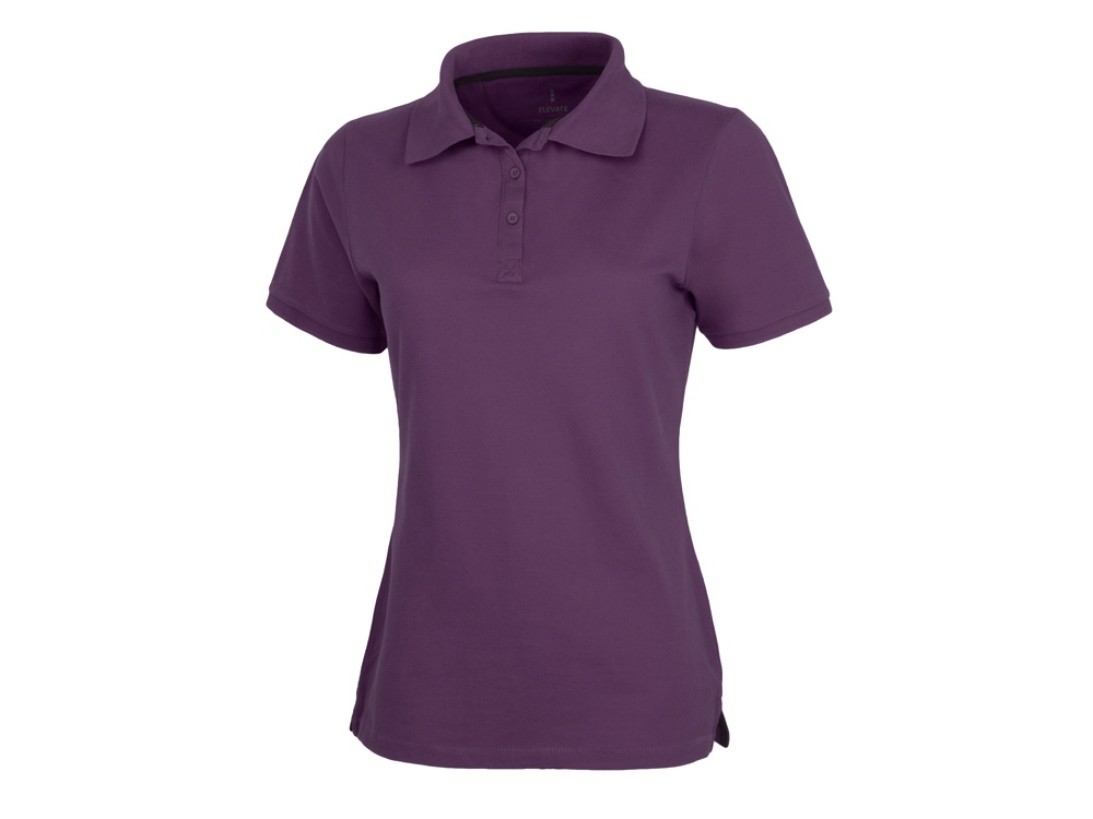 Рубашка поло Calgary женская, темно-фиолетовый