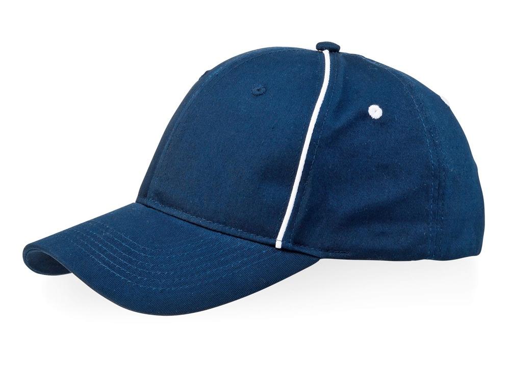 Бейсболка Break 6-ти панельная, темно-синий