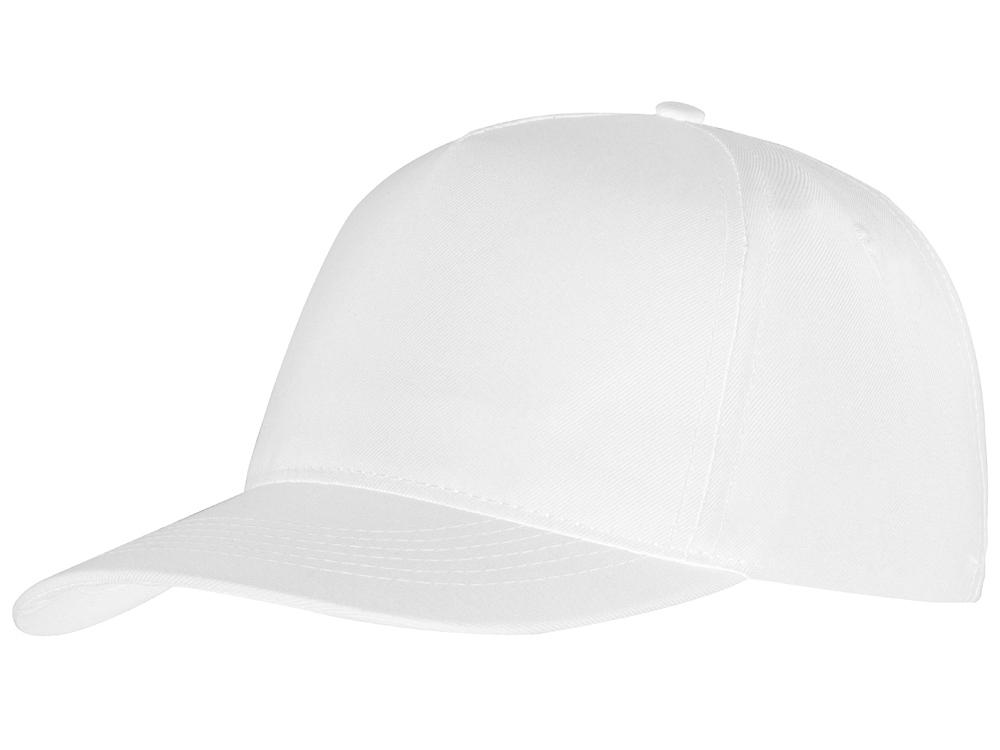 Бейсболка Mix 5-ти панельная, белый