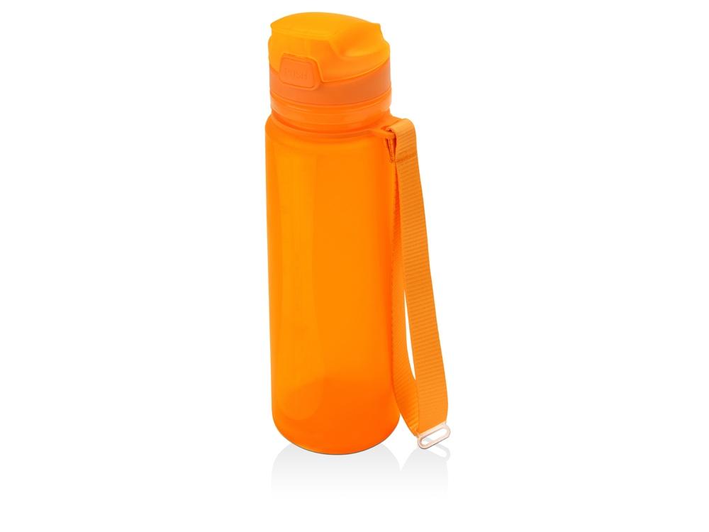 Складная бутылка Твист 500мл, оранжевый