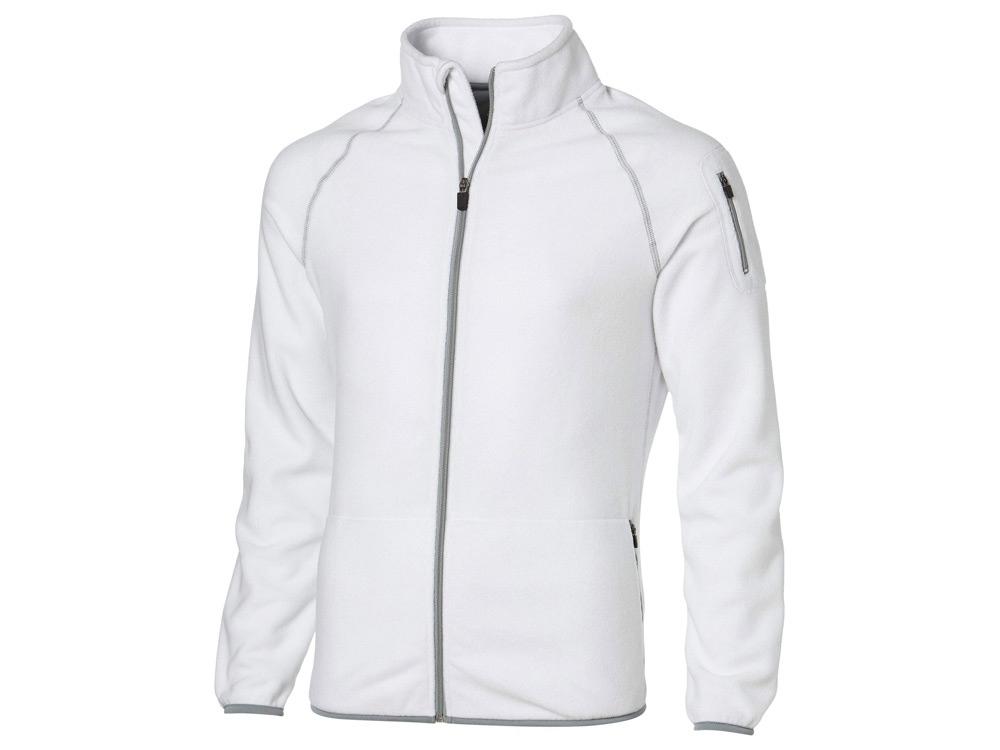 Куртка Drop Shot из микрофлиса мужская, белый