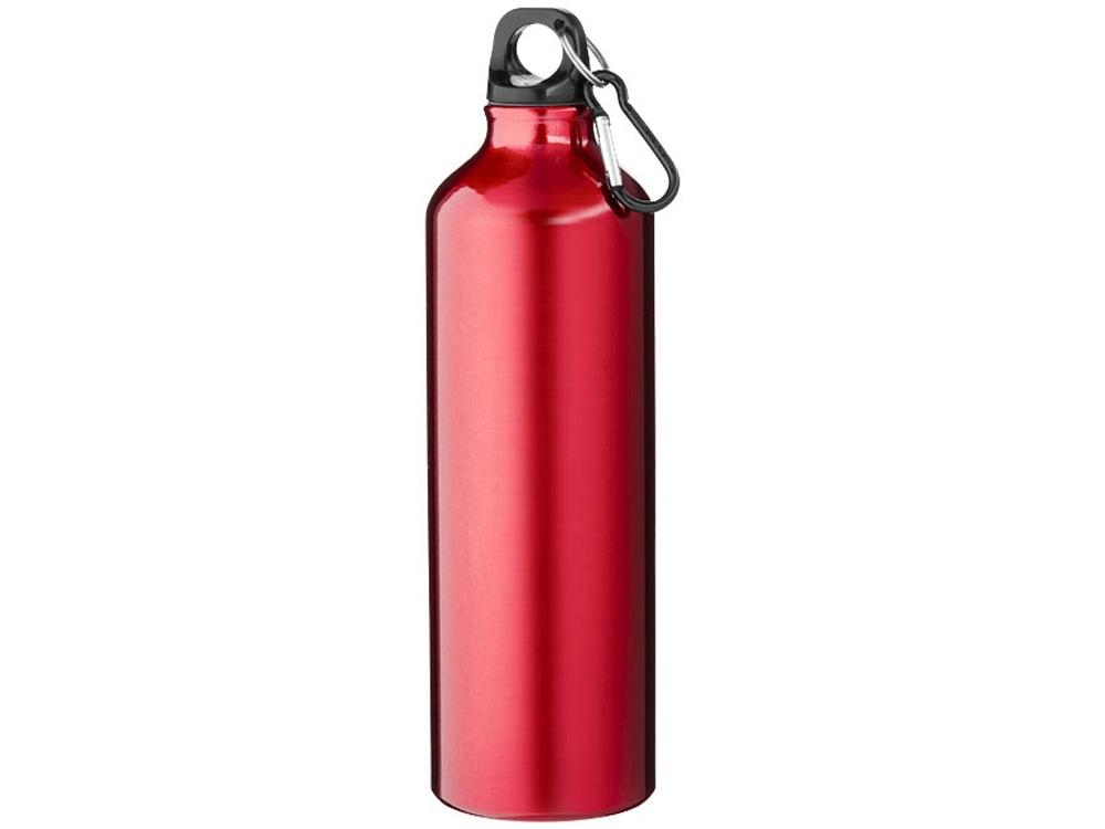 Бутылка Pacific с карабином, красный