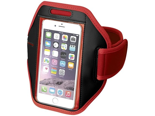 Наручный чехол Gofax для смартфонов с сенсорным экраном, красный