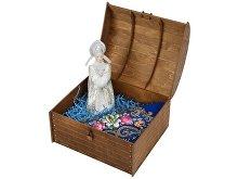 Подарочный набор «Новогоднее настроение»: кукла-снегурочка, варежки (арт. 94804)