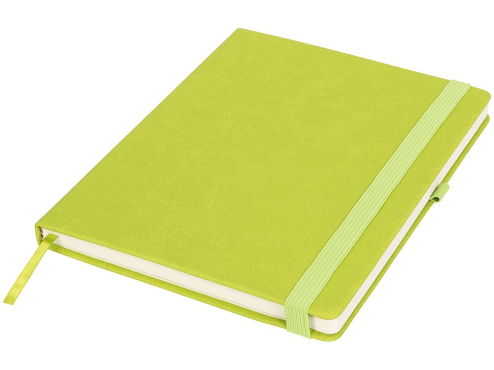 Блокнот Rivista большого размера, зеленый