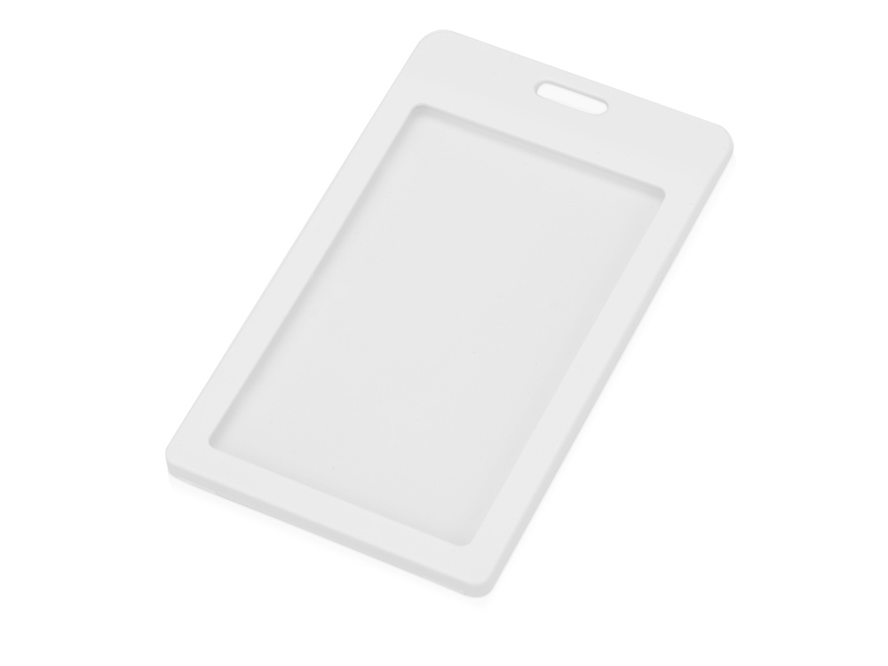 Бейдж Show mini Vert 67*110 мм (внут.размер  54*85 мм), белый