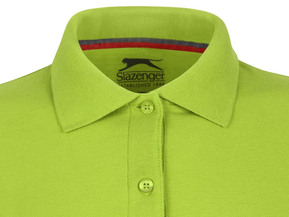 Рубашка поло Point женская с длинным рукавом, зеленое яблоко