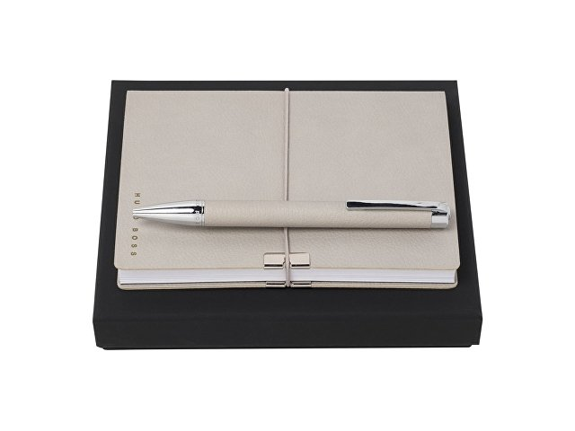 Подарочный набор: блокнот А6, ручка шариковая (арт. HPBM704K)