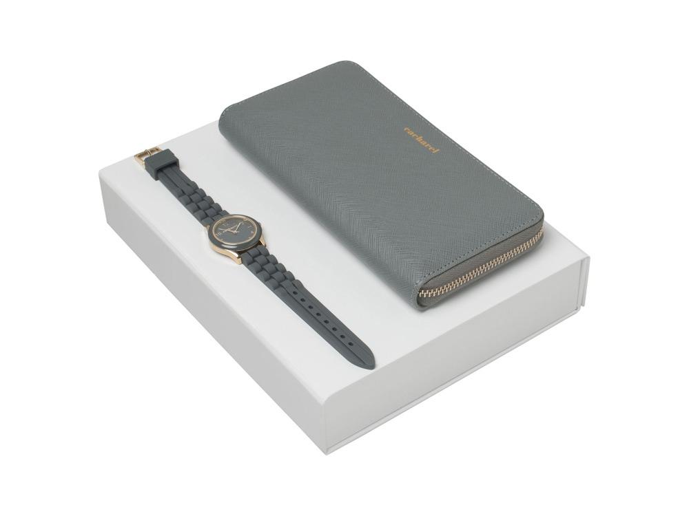 Подарочный набор Bird: портмоне, часы наручные. Cacharel
