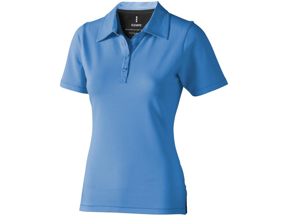 Рубашка поло Markham женская, голубой/антрацит