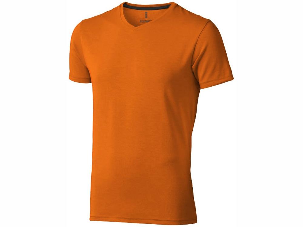 Футболка Kawartha мужская с V-образным вырезом, оранжевый