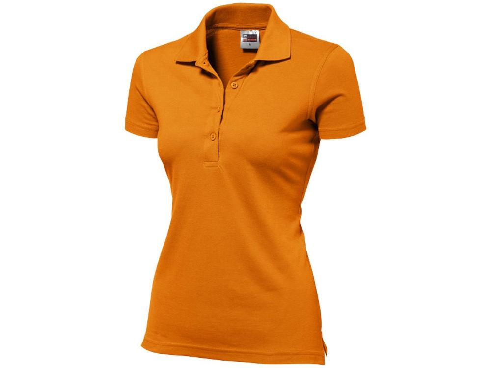 Рубашка поло First женская, оранжевый