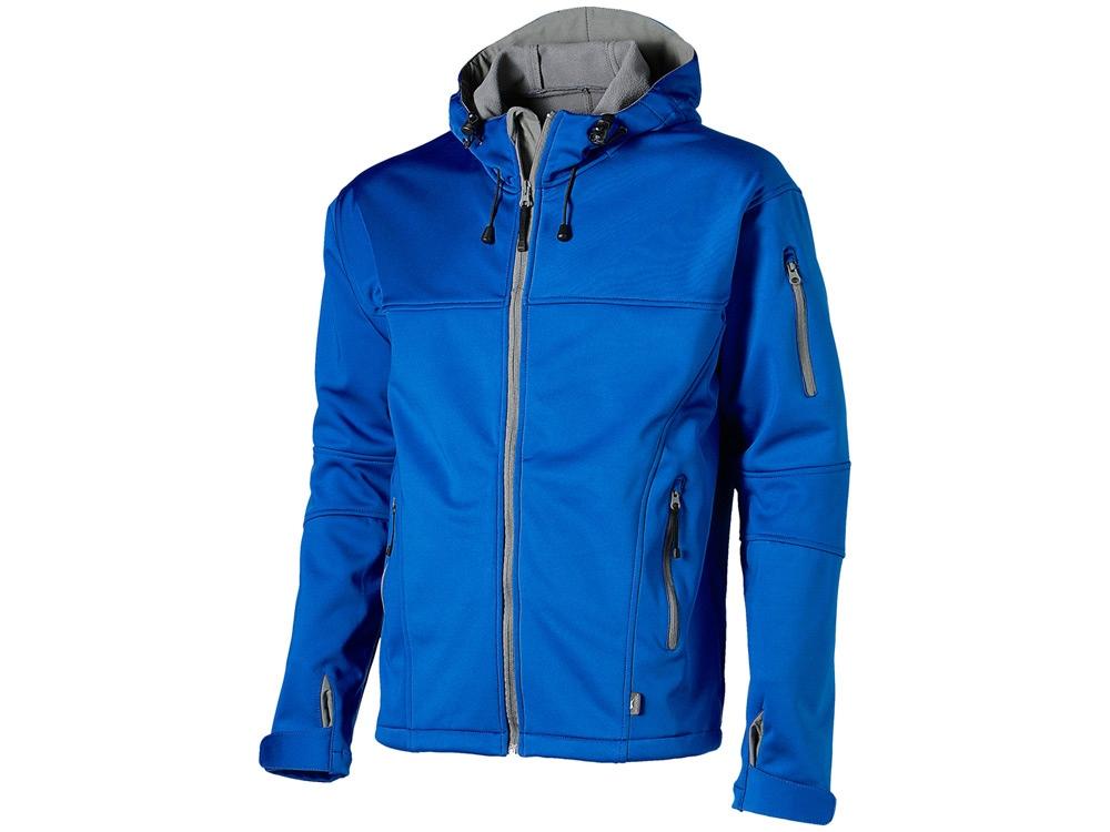 Куртка софтшел Match мужская, небесно-синий