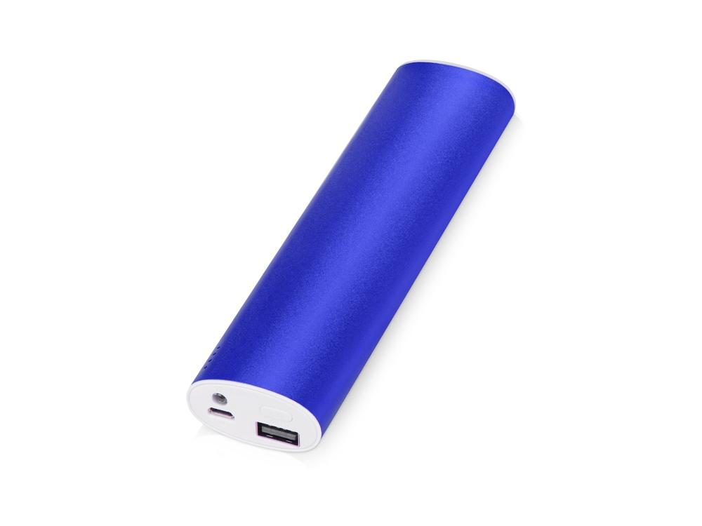 Портативное зарядное устройство Спайк, 8000 mAh, синий