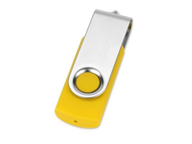 Флеш-карта USB 2.0 16 Gb «Квебек», желтый