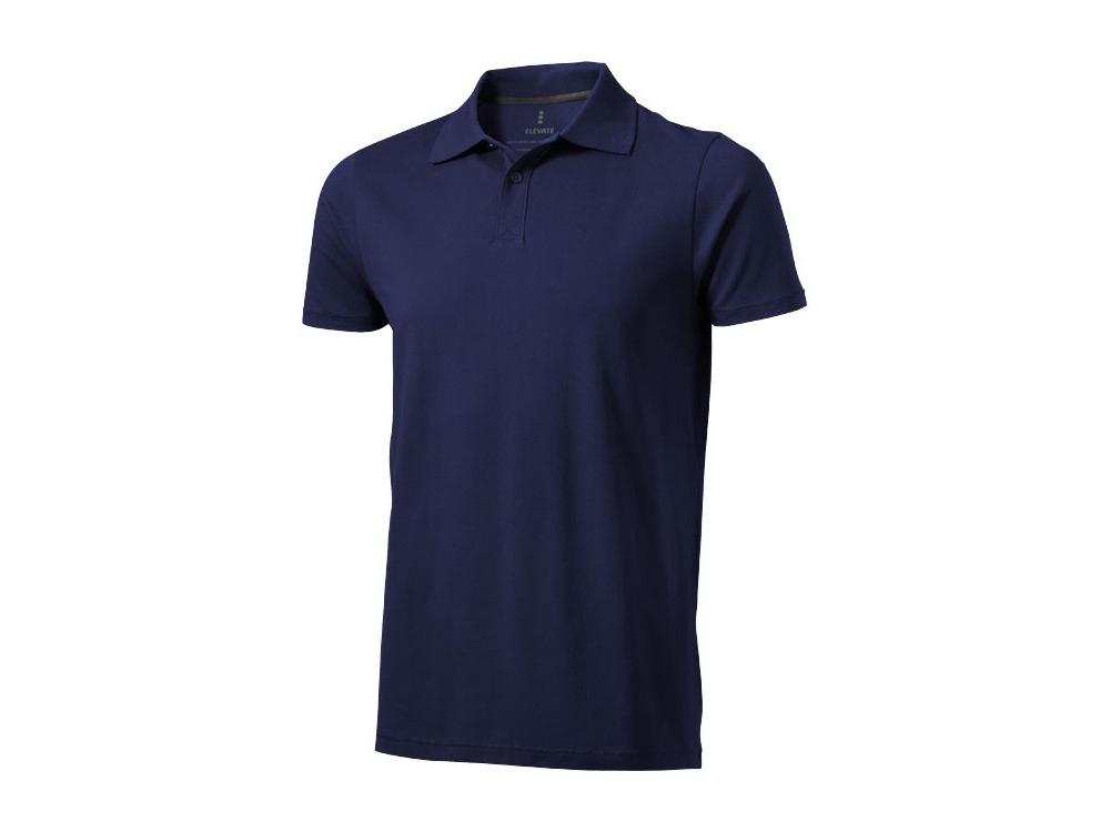 Рубашка поло Seller мужская, темно-синий