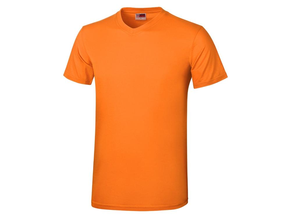 Футболка Heavy Super Club мужская с V-образным вырезом, оранжевый