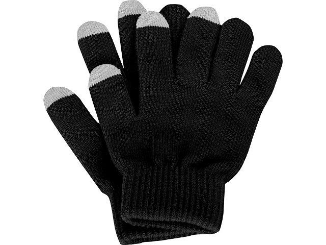 Перчатки для сенсорного экрана, черный, размер L/XL