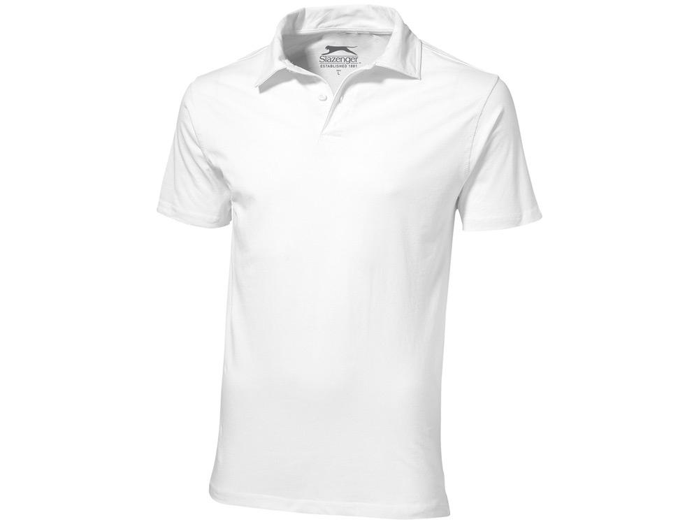 Рубашка поло Let мужская, белый