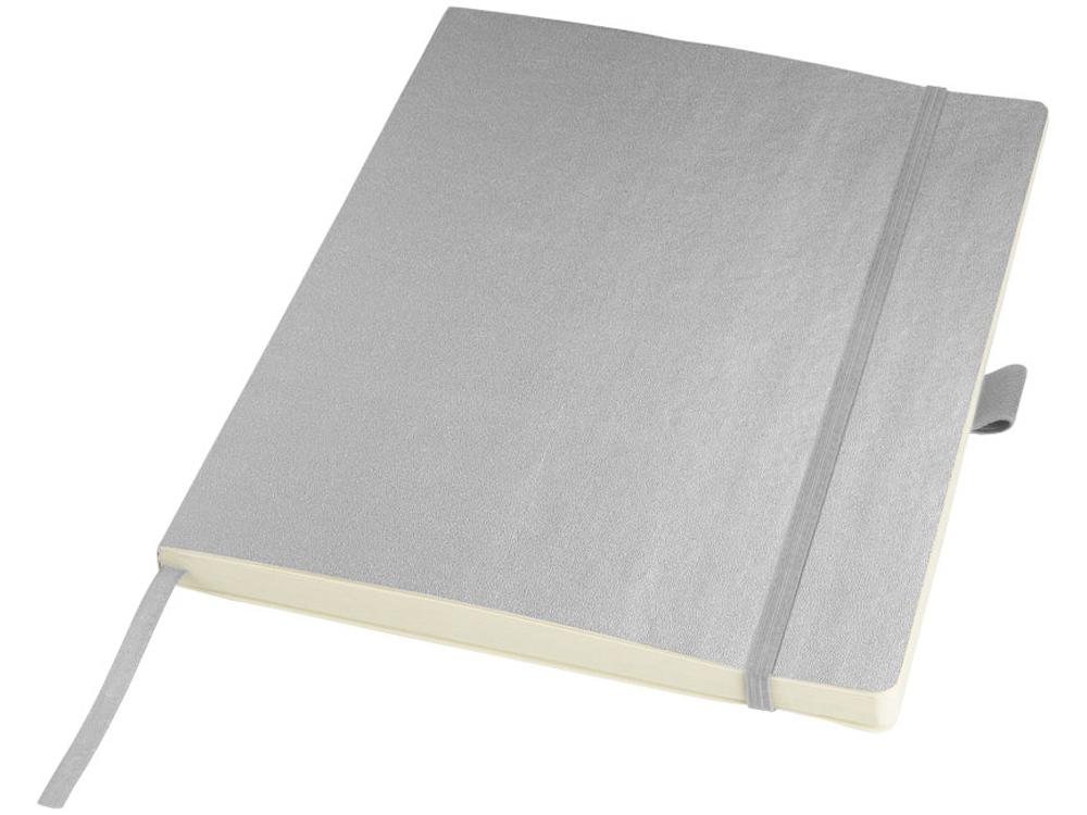 Блокнот Pad  размером с планшет, серебристый