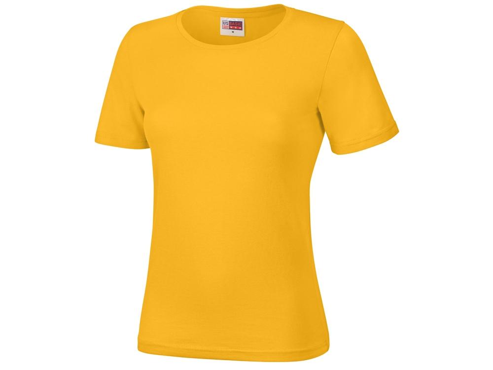 Футболка Heavy Super Club женская, золотисто-желтый