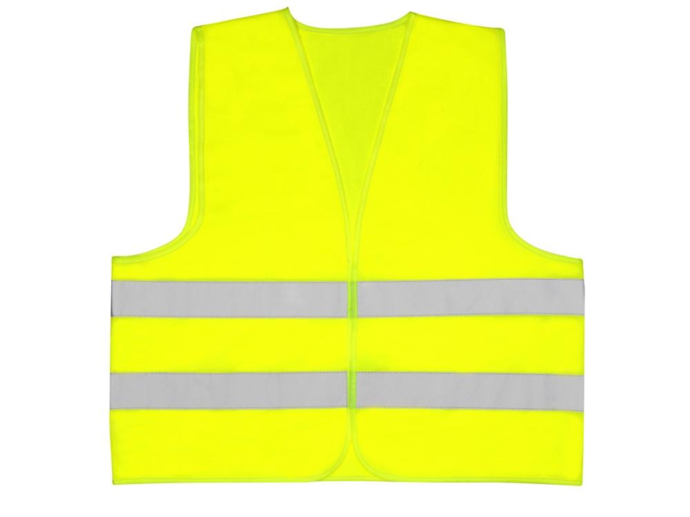 Жилет со светоотражателями Неон, неоновый желтый