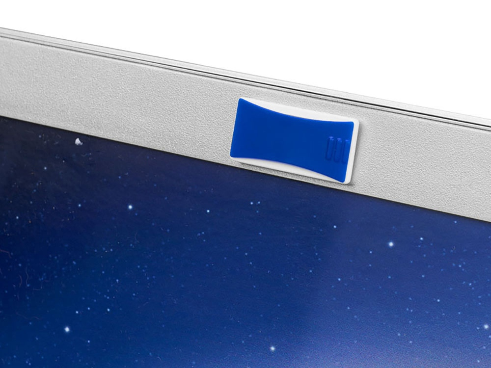 Блокиратор веб-камеры, ярко-синий