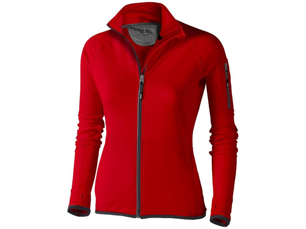 Куртка флисовая Mani женская, красный