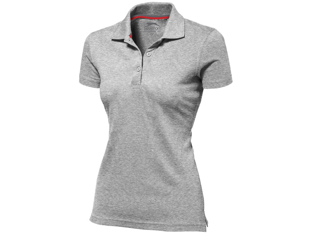 Рубашка поло Advantage женская, серый меланж