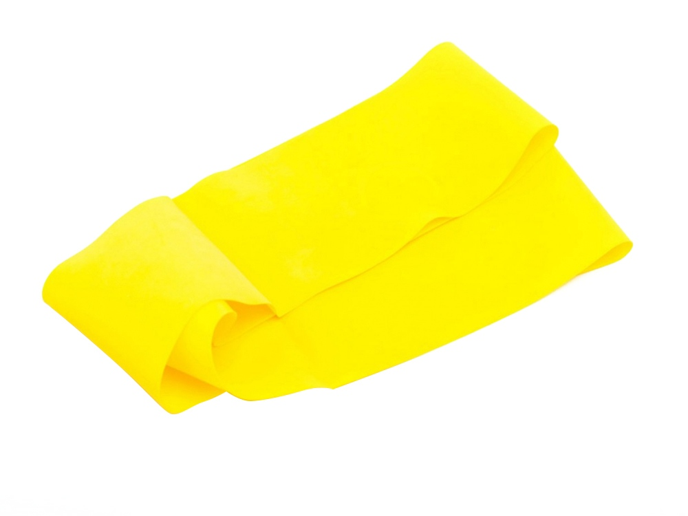 Эспандер-лента, нагрузка до 5,5 кг, желтый