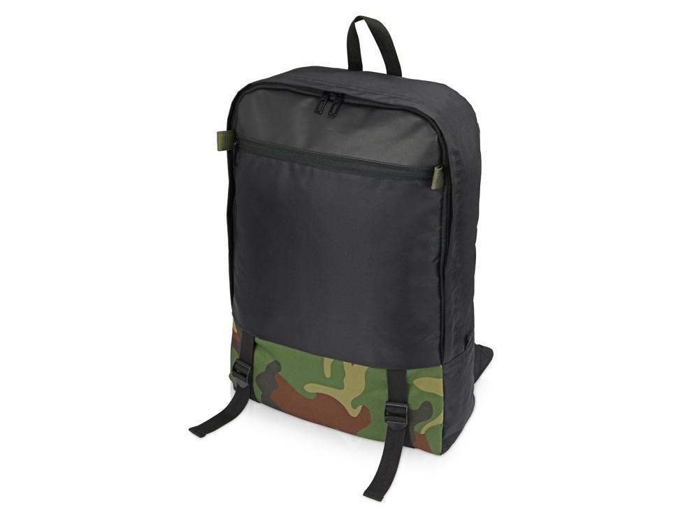 Рюкзак Combat с отделением для ноутбука  17,черный