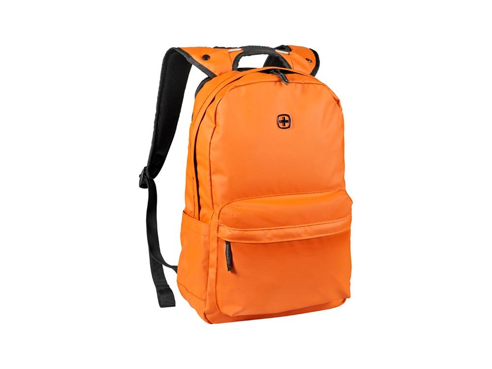 Рюкзак WENGER 18 л с отделением для ноутбука 14'' и с водоотталкивающим покрытием, оранжевый